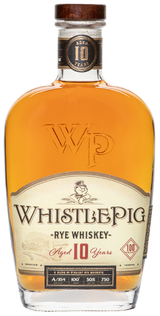 WhistlePig Single Barrel Straight Rye 10 year old