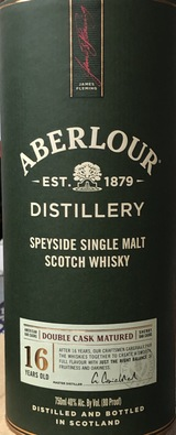 Aberlour  Double Cask Matured Single Malt Scotch Whisky 16 year old