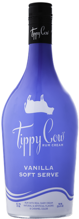 Tippy Cow Vanilla Soft Serve Rum Cream