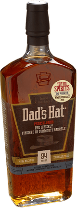 Dad's Hat Vermouth Barrel Finished Rye Whiskey