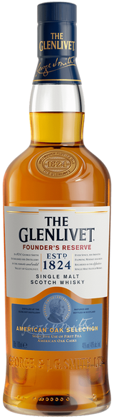 The Glenlivet Founder's Reserve Single Malt Scotch Whisky