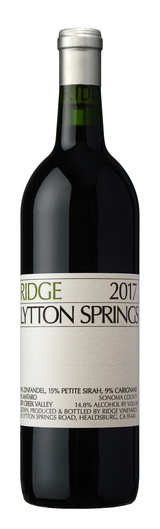 Ridge Vineyards Lytton Springs 2017