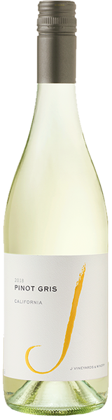 J Vineyards & Winery California Pinot Gris 2018