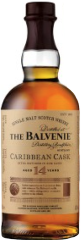 Balvenie Caribbean Cask Single Malt Scotch Whisky 14 year old