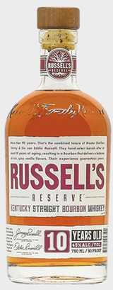Russell's Reserve Kentucky Straight Bourbon Whiskey 10 year old