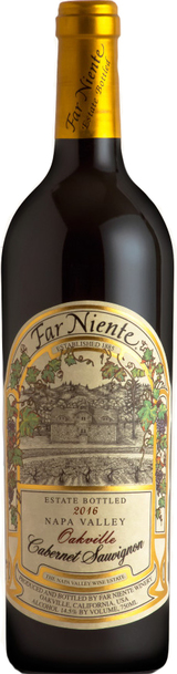 Far Niente Estate Bottled Oakville Cabernet Sauvignon 2016
