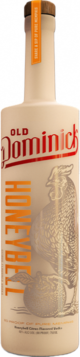 Old Dominick Distillery Honeybell Citrus Flavored Vodka
