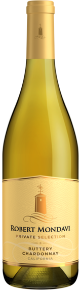 Robert Mondavi Private Selection Buttery Chardonnay 2019