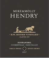 Mike & Molly Hendry RW Moore Vineyard Zinfandel 2017