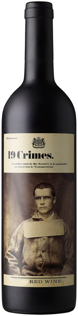 19 Crimes Red Wine 2019