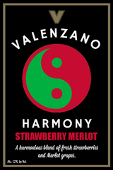 Valenzano Valenzano Harmony Series Strawberry Merlot