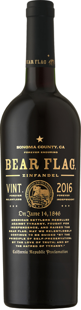 Bear Flag Zinfandel 2016