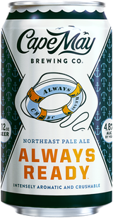 Cape May Brewing Company Always Ready Hazy Pale Ale