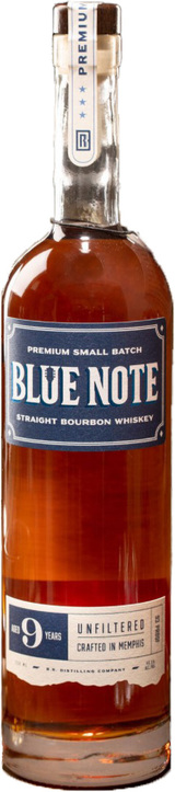 Blue Note Bourbon Premium Small Batch Bourbon 9 year old