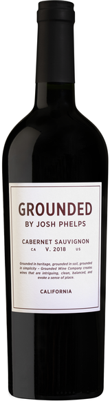 Grounded Wine Company Grounded By Josh Phelps Cabernet Sauvignon 2018