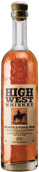 High West Distillery Rendezvous Rye