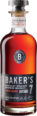 Baker's Kentucky Straight Bourbon Whiskey 7 year old