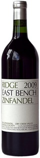 Ridge Vineyards East Bench Zinfandel 2009