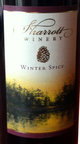 Sharrott Winter Spice Wine