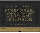 Laws Whiskey House A.D. Laws Four Grain Straight Bourbon Whiskey