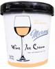 Mercer's Wine Ice Cream Peach White Zinfandel Ice Cream