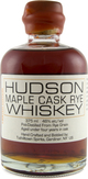 Hudson Whiskey Maple Cask Rye