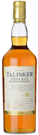 Talisker Single Malt Scotch Whisky 18 year old
