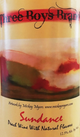 Wagonhouse Winery Three Boys Brand Sundance Peach Wine
