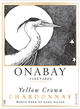 Onabay Vineyards Yellow Crown Chardonnay 2014