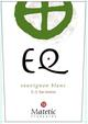 Matetic Vineyards EQ Coastal Sauvignon Blanc 2017