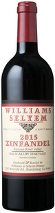 Williams Selyem Bacigalupi Vineyard Zinfandel 2015