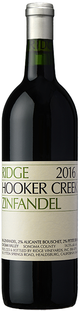 Ridge Vineyards Hooker Creek Zinfandel