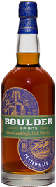 Boulder Born Spirits  Boulder Whiskey Single Malt Peated