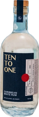 Ten To One Rum Silver