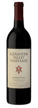Alexander Valley Vineyards Estate Cabernet Franc 2017