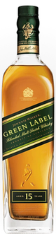 Johnnie Walker Green Label Blended Malt Scotch Whisky 15 year old
