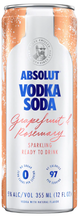 Absolut Grapefruit & Rosemary Vodka Soda