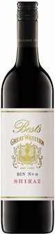 Best's Great Western Bin 0 Shiraz 2017